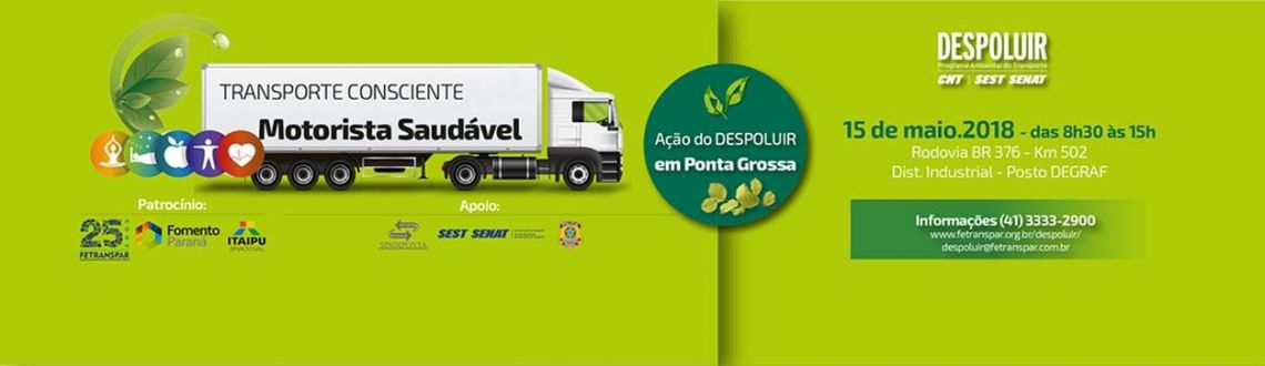 DESPOLUIR - Transporte Consciente Motorista Saudável