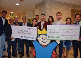 NTC&Logística - Francisco Pelucio entrega doação da Ação do Bem ao hospital Pequeno Príncipe