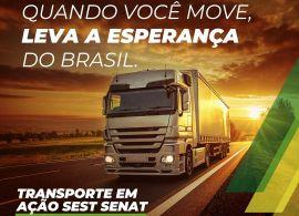 Ação da FETRANSPAR SEST SENAT Paraná atende caminhoneiros em rodovias