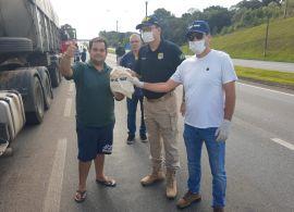 Mobilização do SEST SENAT já atendeu mais de 3.200 motorista no Paraná