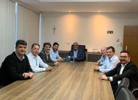 FETRANSPAR recebe comitiva de gestores da Klabin