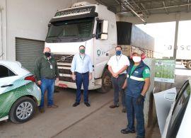 COCAMAR - Programa Despoluir avalia emissões da frota