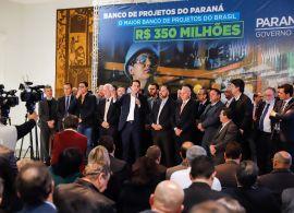 Paraná lança maior banco de projetos executivos de sua história