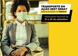 Sest Senat realiza mobilização na Semana do Trânsito