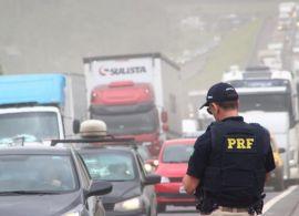 PRF alerta para segurança nas estradas durante o feriado