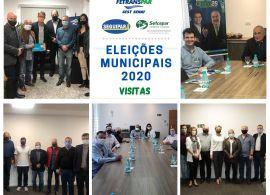 Candidatos à Prefeitura de Curitiba visitam Fetranspar