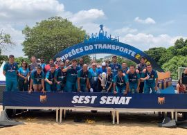 Viação Campos Gerais time de Ponta Grossa conquista o 2º lugar na Copa SEST SENAT 2019