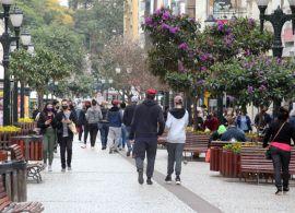 Curitiba volta para a bandeira laranja nesta quarta-feira (9)