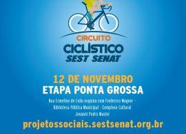SEST SENAT – Unidade Ponta Grossa realiza 1° Circuito Ciclístico