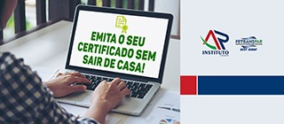 Emita seu certificado sem sair de casa